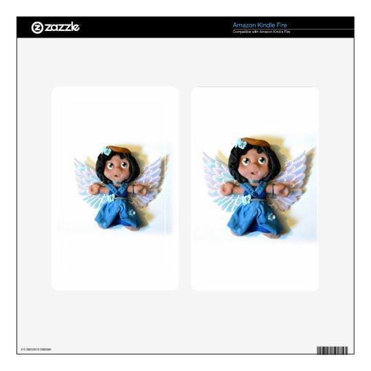 Krystal Angel I Kindle Fire Decal