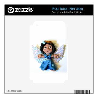 Krystal Angel I Skins For iPod Touch 4G