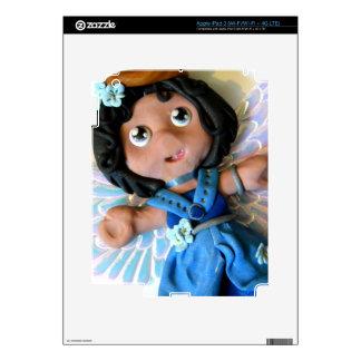 Krystal Angel II iPad 3 Decal