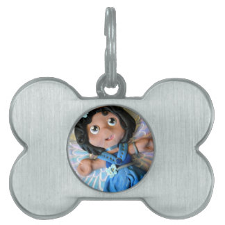 Krystal Angel II Pet ID Tag