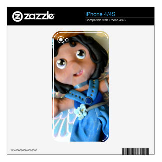 Krystal Angel II Skin For The iPhone 4S