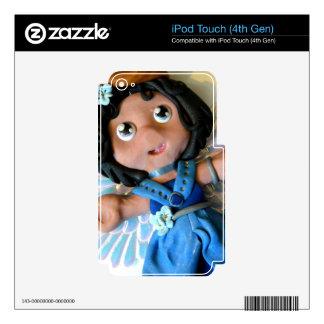 Krystal Angel II Skins For iPod Touch 4G