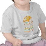 Krystal apiló camisetas