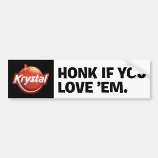 Krystal Bumper Stickers