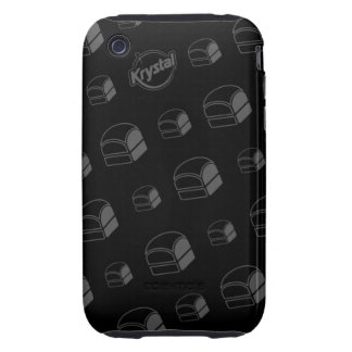 Krystal Burgers iPhone Case Tough iPhone 3 Cover