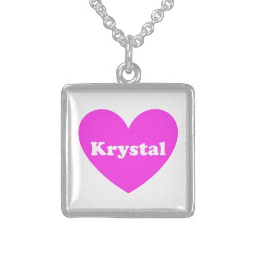 Krystal Colgante
