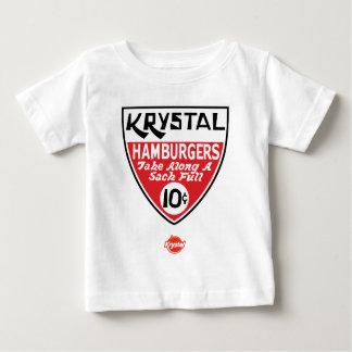Krystal escudo de 10 centavos camisetas