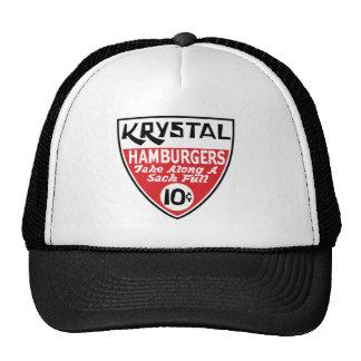 Krystal escudo de 10 centavos gorras de camionero