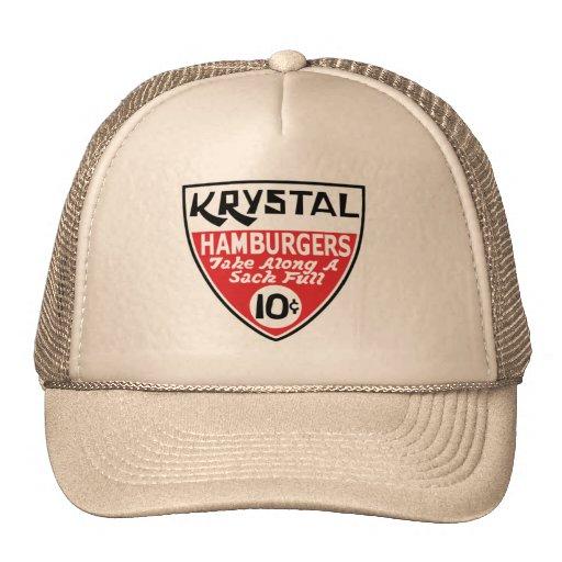 Krystal escudo de 10 centavos gorras