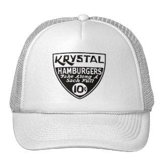Krystal escudo de 10 centavos gorra