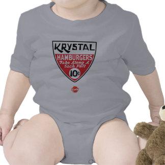 Krystal escudo de 10 centavos trajes de bebé