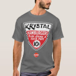 Krystal escudo de 10 centavos playera