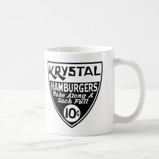 Krystal escudo de 10 centavos tazas
