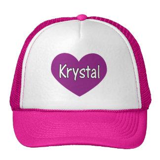 Krystal Gorros Bordados