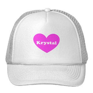 Krystal Mesh Hat