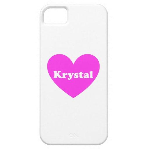 Krystal iPhone 5 Funda