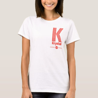 Krystal K grande Playera