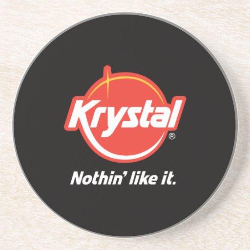 Krystal Logo Coaster