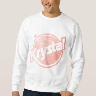 Krystal Logo Faded Sweatshirt