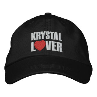 Krystal Lover Embroidered Baseball Hat