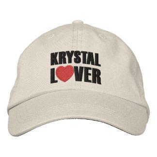 Krystal Lover Embroidered Baseball Hat