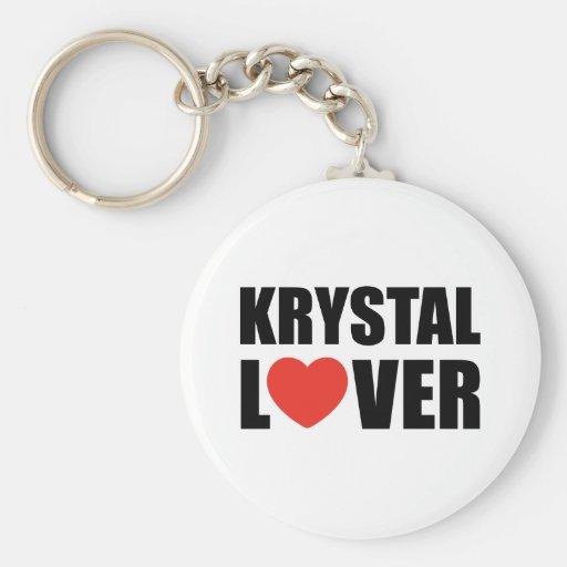 Krystal Lover Keychain