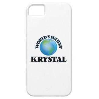 Krystal más atractivo del mundo funda para iPhone 5 barely there