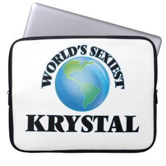 Krystal más atractivo del mundo fundas ordendadores