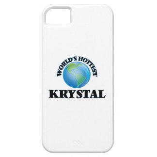 Krystal más caliente del mundo iPhone 5 carcasa