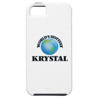 Krystal más caliente del mundo iPhone 5 carcasas