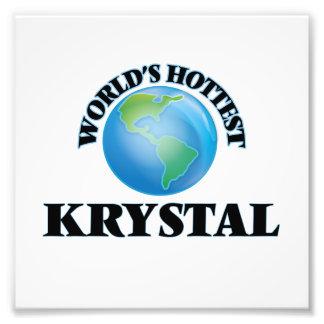 Krystal más caliente del mundo arte fotográfico
