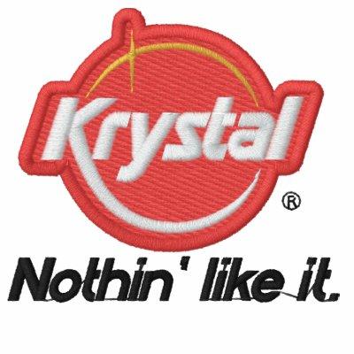 Krystal nada tiene gusto de él sudadera embordada personalizada