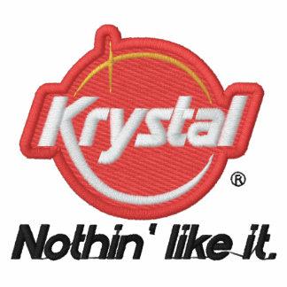 Krystal nada tiene gusto de él sudadera bordada con capucha