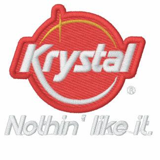 Krystal nada tiene gusto de él sudaderas bordadas