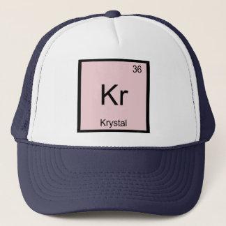 Krystal  Name Chemistry Element Periodic Table Trucker Hat