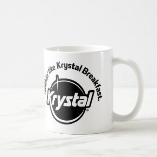 Krystal Nothin Like Breakfast Classic White Coffee Mug