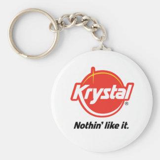 Krystal Nothin tiene gusto de él Llaveros Personalizados