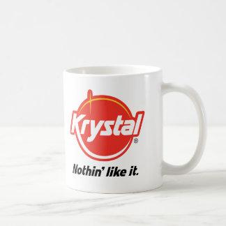 Krystal Nothin tiene gusto de él Taza Básica Blanca
