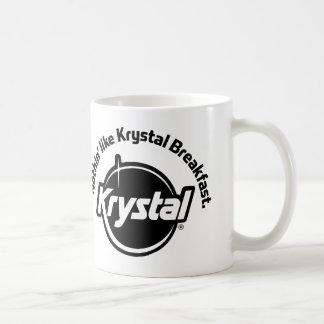 Krystal Nothin tiene gusto del desayuno Taza Básica Blanca