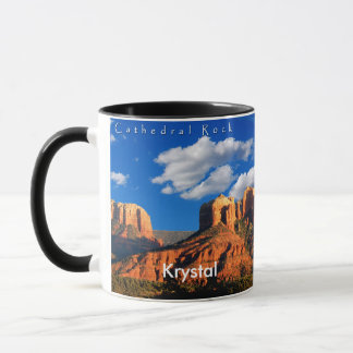 Krystal on Cathedral Rock and Courthouse Mug