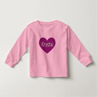 Krystal Playera De Bebé