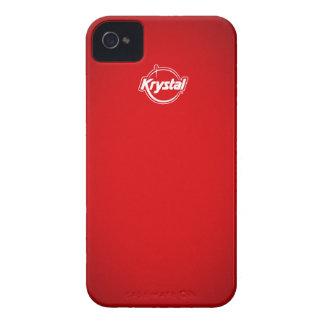 Krystal Red iPhone Case