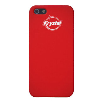 Krystal Red iPhone Case Case For iPhone 5