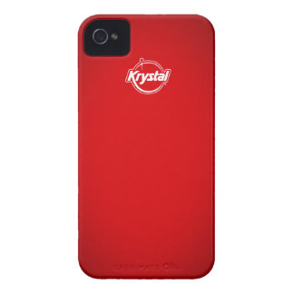 Krystal Red iPhone Case Case-Mate iPhone 4 Case