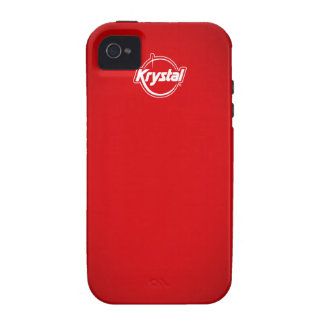 Krystal Red iPhone Case Case-Mate iPhone 4 Cover
