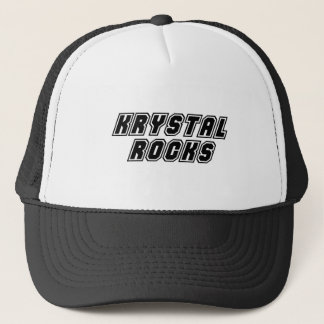 Krystal Rocks Trucker Hat