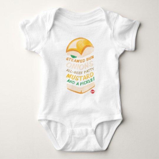 Krystal Stacked Baby Bodysuit