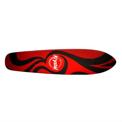 Krystal Swirl Skateboard