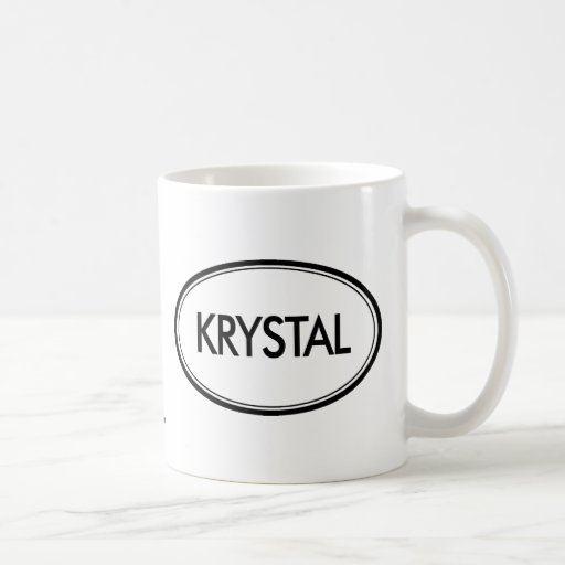 Krystal Taza Básica Blanca