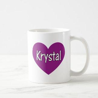 Krystal Taza De Café